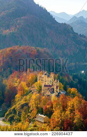 Hohenschwangau Castle, Bavaria, Germany.