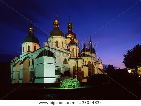 Saint Sophia's Cathedral Evening View