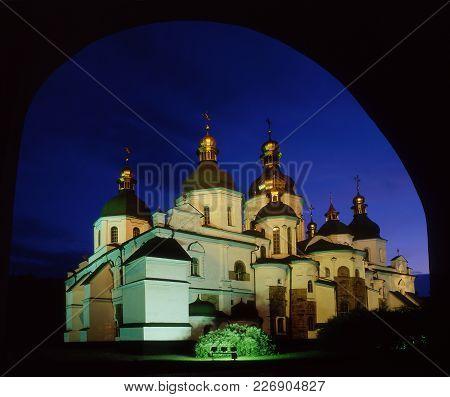 Saint Sophia's Cathedral Throgh Arch
