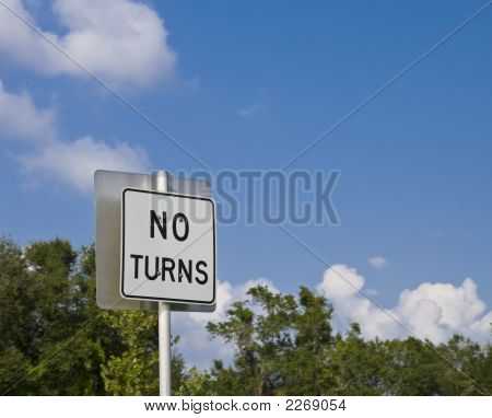 No Turns