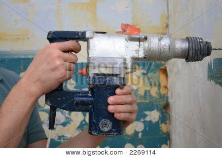Drill In Hand