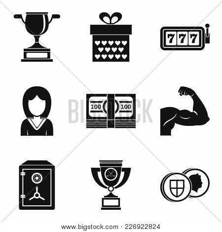 Vanquisher Icons Set. Simple Set Of 9 Vanquisher Vector Icons For Web Isolated On White Background