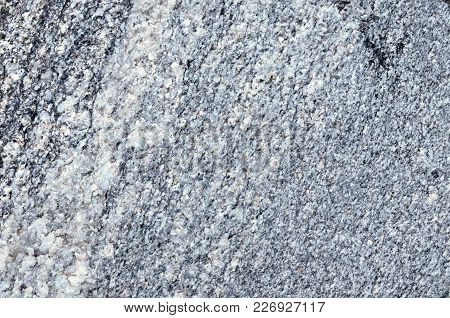 Quartz Vein On Granite-gneiss Rock, Nature Texture Of Granite-gneiss Rock A Gneiss Metamorphic Rock