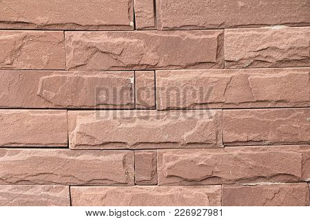 Old Brick Background At Beautiful Vintage Style