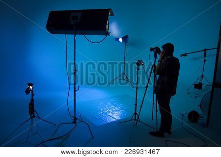 Process Of Making Film, Film Crew, Set