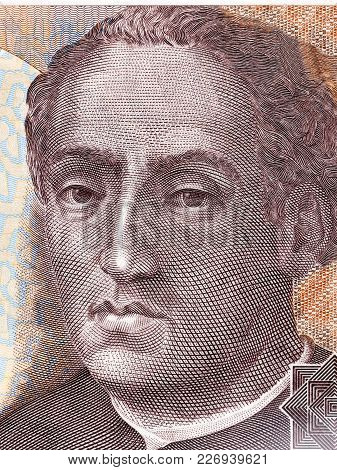 Christopher Columbus Portrait From Spanish Money - Pesetas