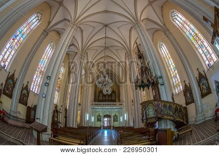 Inside Of St. Mary Cathedral, Novi Sad, Serbia