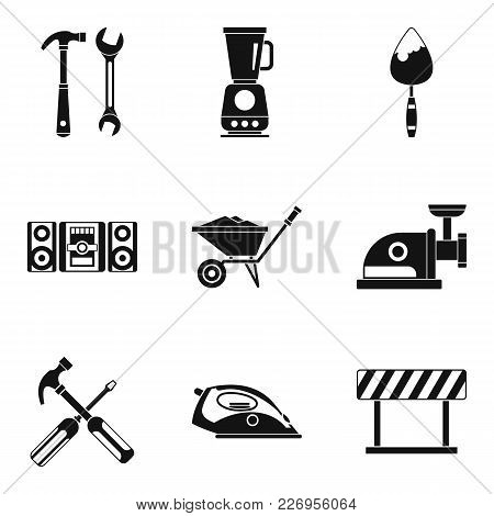 Modernization Icons Set. Simple Set Of 9 Modernization Vector Icons For Web Isolated On White Backgr