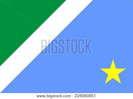 Mato Grosso Do Sul State Brazil Province Region Flag Symbol