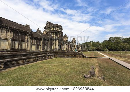 Angkor Wat Siem Reap Cambodia South East Asia Travel