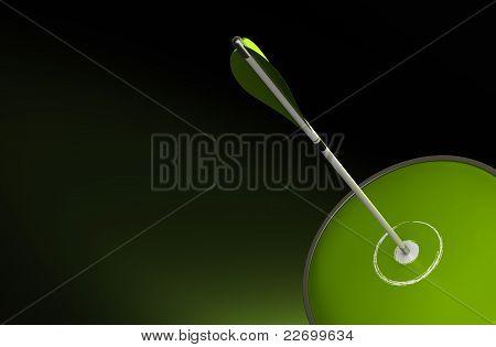 green success background