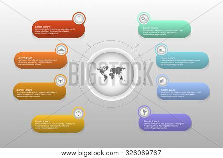 Timeline Infographics Design Vector And Marketing Icons Can Be Used For Workflow Layout, Diagram, An