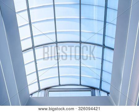 Sun Light Trough The Modern Arched Windows