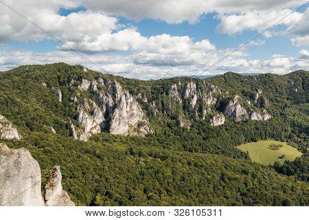 Sulovske Skaly - Sulov Rocks Formation In Northern Slovakia