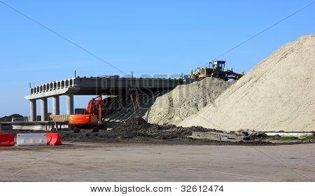 Construction Of Road Bridge