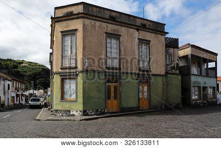 Streets Of Mosteiros, São Miguel Island, Azores, Portugal