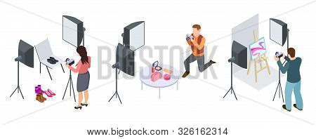Commercial Photography. Isometric Photographers, Photography Of Cosmetics, Shoes, Art Equipment. Pho