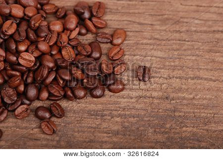 dark wood texture with coffee