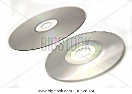disk and mini CD