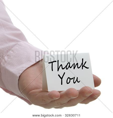Thank You - Sign Series
