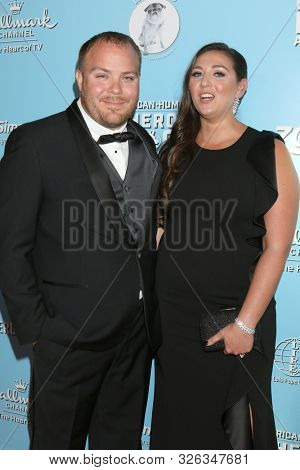 LOS ANGELES - OCT 5:  Fiance, Angel Martin at the 9th Annual American Humane Hero Dog Awards at the Beverly Hilton Hotel on October 5, 2019 in Beverly Hills, CA