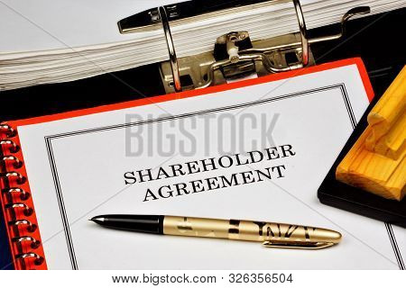 Shareholder Agreement - A Contract For The Exercise Of Rights Certified By Shares. The Shareholders