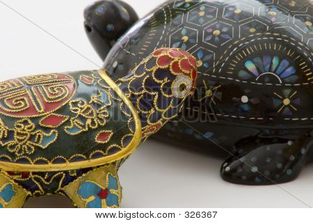 Two Turtle Kitsch