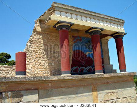 Knossos Bull Fresco