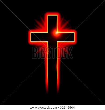 Christian symbol of the crucifix