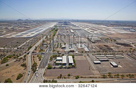 Large Metropolitan Airport