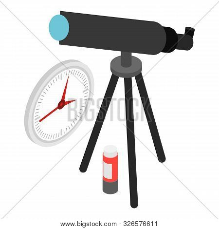 Observation Icon. Isometric Illustration Of Observation Vector Icon For Web