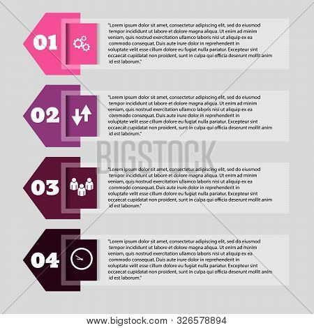 Infographic Design For Presentation Vector Eps 10