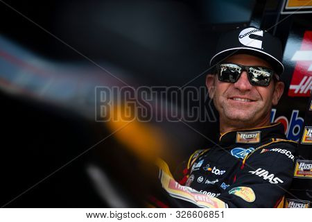 September 27, 2019 - Concord, North Carolina, USA: Clint Bowyer (14) practices for the Bank of America ROVAL 400 at Charlotte Motor Speedway in Concord, North Carolina.