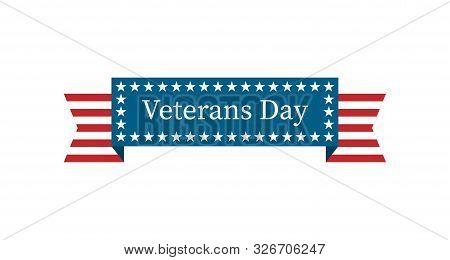 Veterans Day. 11 November. U.s.a Veterans Day Design
