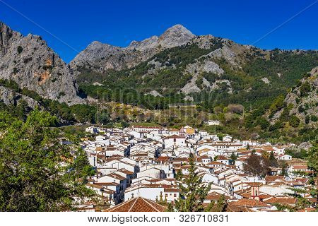 Grazalema, White Village In The Province Of Cadiz, Andalusia, Spain
