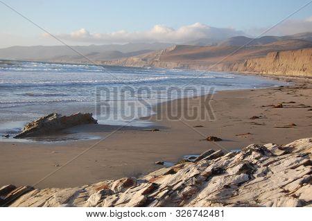 Jalama Beach, Coastal View, Santa Barbara County, California.