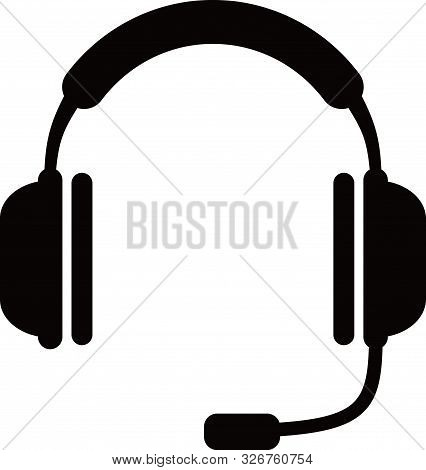 Save Download Preview Headset Icon With A White Background From The Motor Sports Collection. Trendy