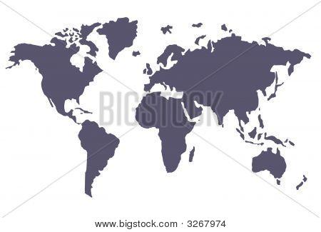 Vector Of International Map
