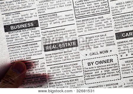 Transparent Newspaper