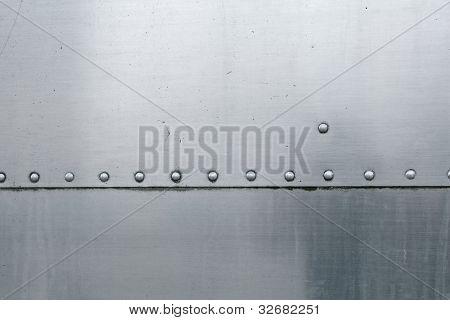 Vintage Aluminum and Rivets