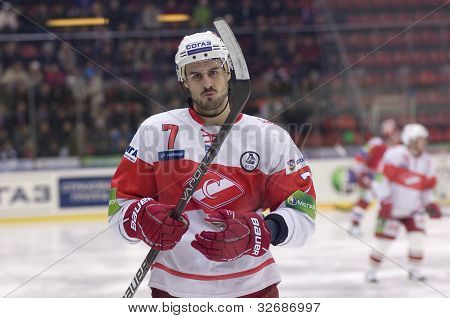 Defender Of Spartak Baranka Ivan