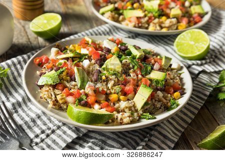 Homemade Mexican Baja Rice Bowl