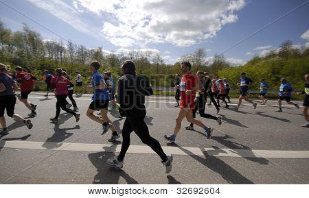Closeup Runners
