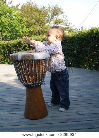 Drumming Baby