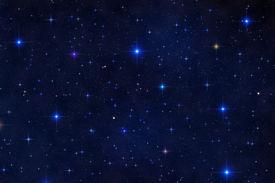 Colorful Starfield