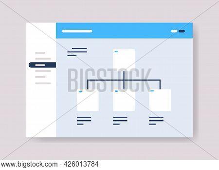 Planning Schedule Online Planner Organizer Calendar With Tasks Information Board Organization Struct