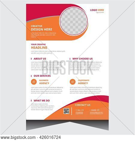 Creative Promotional Company Business Flyer Design Template