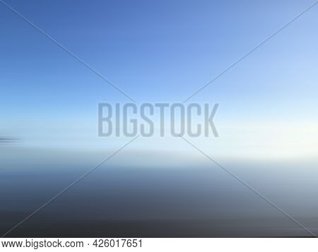 Blue Sky. Blue Background. Light Blue Abstract Background In The 3d.  Blue And White Summer Sky Or S