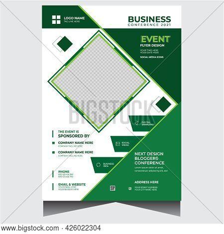 Creative Corporate Business Event Flyer Design Template