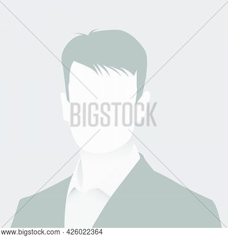Default Avatar Photo Placeholder Icon. Grey Profile Picture. Business Man